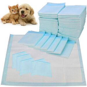 50 100 150 200 60X45CM LARGE PUPPY TRAINING PADS TOILET PEE WEE MATS PET DOG CAT