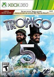 tropico 5 limited special edition microsoft xbox 360 2014 ebay rh ebay com Left 4 Dead Xbox 360 Minecraft Xbox 360