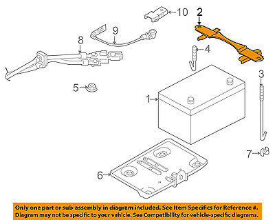 Nissan 24420-AL510 Hold Down Clamp
