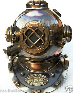 Old Fashioned Diving Helmet Tattoo
