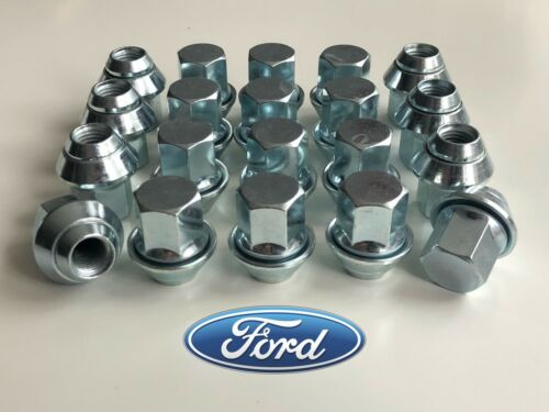 20 X DADI CERCHI IN LEGA FORD FOCUS ST RS M12 x 1.5 19MM Bullone LUG Stud