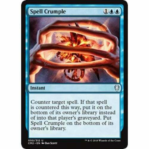 Spell Crumple MTG COMMANDER ANTHOLOGY VOLUME II