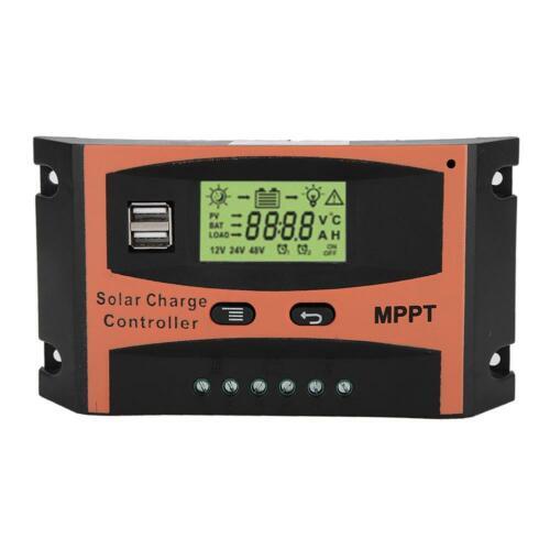 30 ~ 60 A MPPT Panneau solaire Régulateur Chargeur de batterie contrôleur 12//24V avec LCD USB