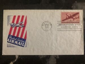 1941-Baltimore-USA-First-Day-Cover-FDC-American-Philatelic-Society-Station