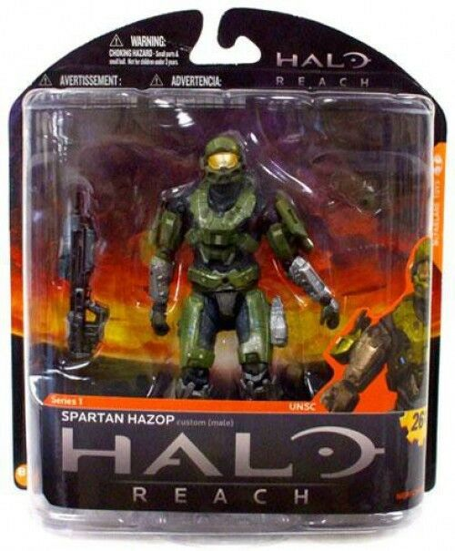 McFarlane Toys Halo Reach Series 1 Spartan Hazop Action Figure