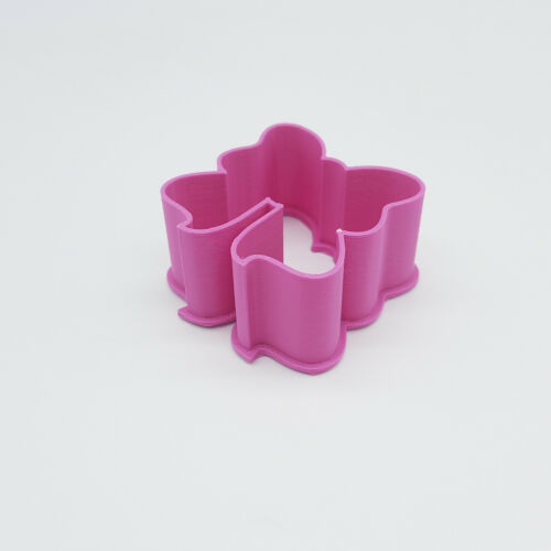 """2/""""//3/""""//4/""""//5/"""" Size 1/"""" Deep Silk Ribbon Bow Tie Cookie Cutter"""