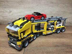 Lego 6753 Highway Transport Creator, modèle de camion, transporteur de voitures complet complet complet