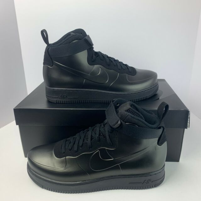 lowest price cc079 aa62c Nike Air Force 1 Foamposite Cup Men's Triple Black AF1 Casual AH6771-001
