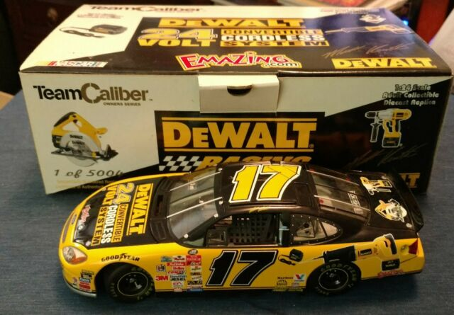 2004 TEAM CALIBER NASCAR #17 MATT KENSETH DEWALT DIECAST CAR MIB