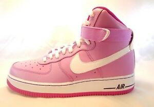 Details about Nike Air Force 1 High (GS) Girls Fashion shoes 653998 501 Size 7Y
