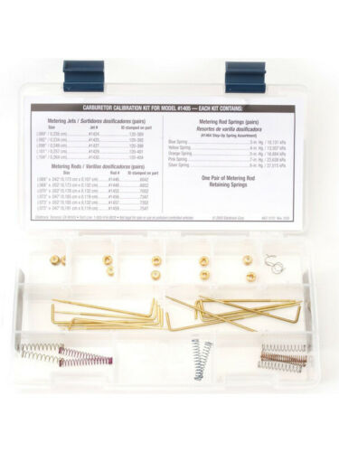 Edelbrock Calibration Kit For1405 Performer Series Carburettor Kit 1479