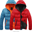 Fashion-Men-Boy-Winter-Warm-Hooded-Thick-Padded-Jacket-Zipper-Slim-Outwear-Coat miniatura 8