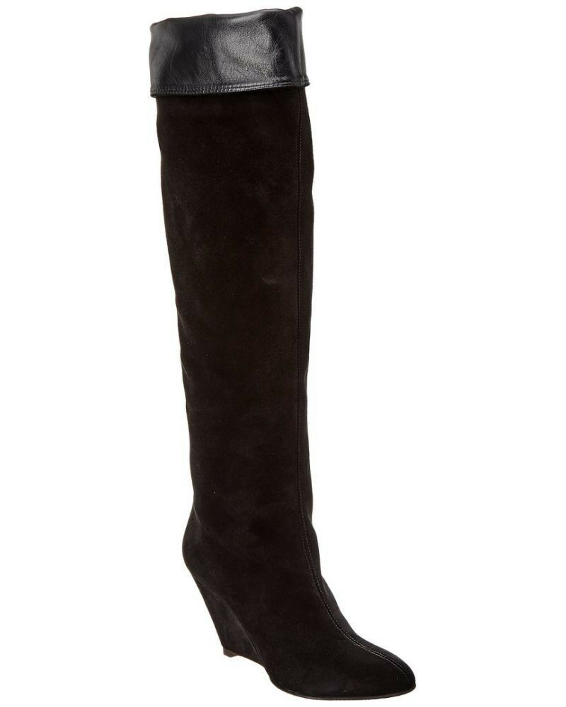 Giuseppe Zanotti Suede & Leather bota, Talla 37.5
