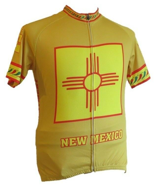 Cycling  Jersey  ( New Mexico Zia )