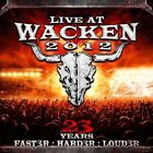 Live at Wacken 2012 by Various Artists (CD, Dec-2013, 2 Discs, UDR)