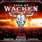 Live at Wacken 2012 by Various Artists (CD, Dec-2013, 2 Discs, UDR)