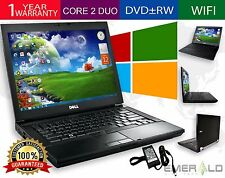 Dell Latitude Laptop PC Core 2 Duo 2GB RAM 250GB HDD DVDRW Windows 7 Notebook PC