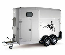 Galloping Horse Car Trailer Box Bonnet Truck Sticker Decals Large LSH14