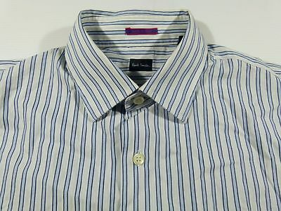 Gutherzig Kl368 Paul Smith Striped Shirt Size 16/41, Excellent+ Condition! Angemessener Preis