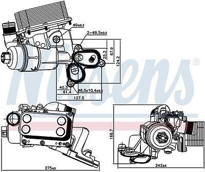 FILTRO SCAMBIATORE chassis 2.0 DCI ORIGINALE 8200797762