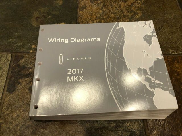 2017 Lincoln Mkx Wiring Diagrams Electrical Service Manual