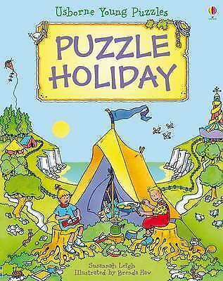 1 of 1 - Puzzle Holiday (Usborne Young Puzzles)-ExLibrary