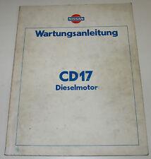 Werkstatthanbuch Nissan Sunny Cherry Pulsar N13 / N12 / CD17 Diesel Motor 1983!