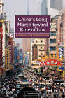 China's Long March toward Rule of Law by Randall Peerenboom (Paperback, 2002)