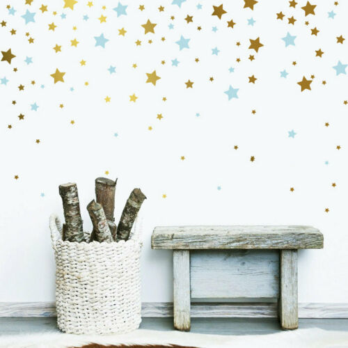 Nursery Wall Decal ga38 2 Color Star Decals Star Wall Decals,Vinyl Wall Decals