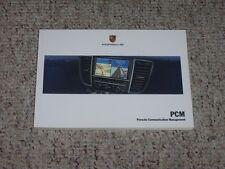 2010 Porsche 911 Carrera & Turbo 997 Navigation System Owner Manual User Guide