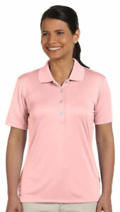 Ashworth-Womens-Performance-Interlock-Solid-Golf-Polo-Shirt-S-2XL-3050-CLOSEOUT
