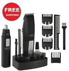 Wahl Mustache Beard Trimmer Shaver Set Clipper Hair Cut Groomer Ear Nose Brow B