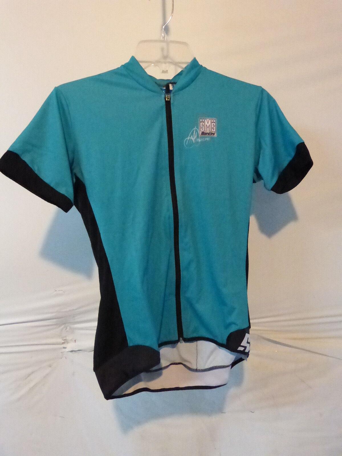 Santini  33 Womens XL Aero Short Sleeve Jersey Turquoise Retail  179.95  100% price guarantee