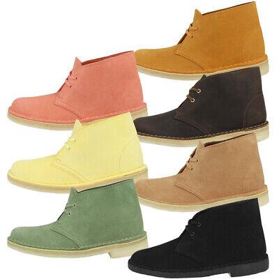 Details zu Clarks Desert Boot Women Schuhe Damen Boots Stiefel Schnürschuhe 26138824
