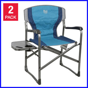 Details About Timber Ridge Folding Directoru0027s Chair 2 Pack