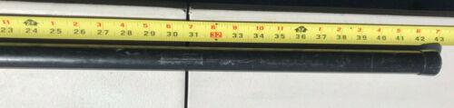 "1 Single YAKIMA Roof Rack Round Cross Bar 43/""-66/"" w//End Caps Multiple Sizes"