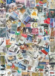 700-NORWAY-USED-ALL-DIFFERENT-COMMEMORATIVE-PICTORIAL-KILOWARE-OFF-PAPER-4-S