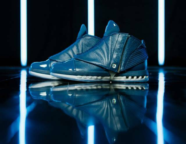 2016 Nike Air Jordan 16 XVI Retro Trophy Room French bluee Size 14. 854255-416 1