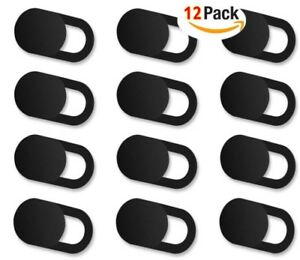 12x WebCam Shutter Privacy Slider Plastic Camera Cover For Macbook Laptop Phone