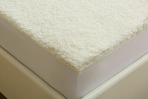 Warm and Cosy Fleece Under blanket Mattress Protector Cover Fitted Sheet
