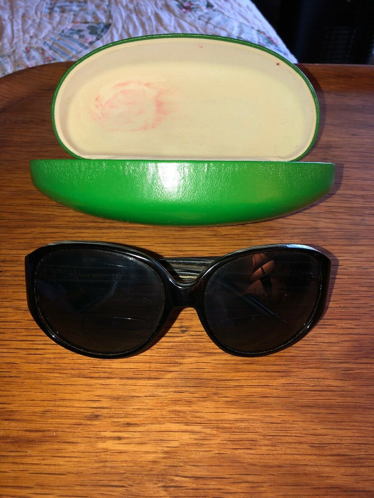 Kate Spade Women's Reading/Bifocal Sunglasses With Green Case