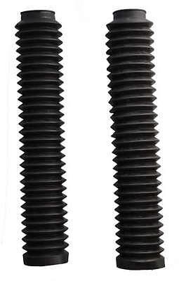 Black Fork Gaiters for: Honda NX650 Dominator 88-02