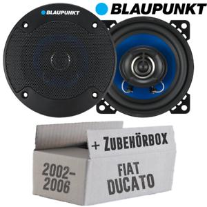 Lautsprecher Boxen Blaupunkt 2-Wege Auto KFZ Einbauset für Fiat Ducato 244 Front