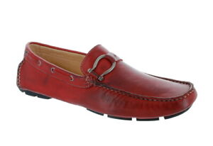 BACCO BUCCI TIGER II RED DRIVER LOAFER
