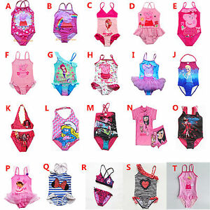 e295885824 Image is loading Girl-Swimwear-Swimsuit-Tankini-Bather-Peppa-Pig-Monster-