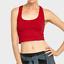 Women-Tank-Top-Crop-T-Shirt-Fashion-Casual-Sans-Manches-Sport-Gym-Dos-Nageur-Tee miniature 15