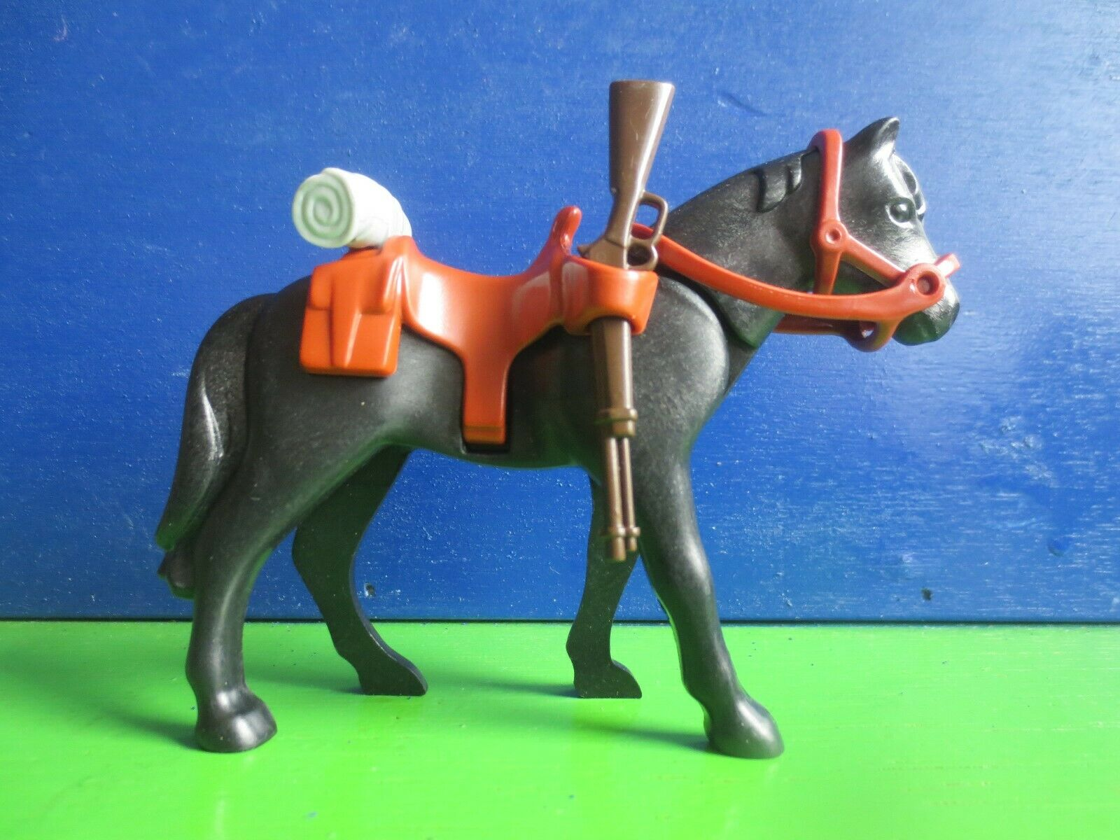 Playmobil Südstaatler, Nordstaatler, Pferde, Kavalleriepferde mit Zubehör  | Deutsche Outlets