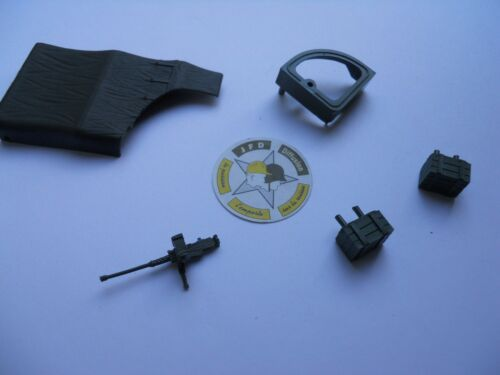 VEHICULE MILITAIRE SOLIDO VEREM CONVERSION HT US M3 MITRAILLEUSE 12,7 mm KAKI