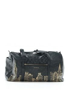 4fd90afd7b3d New Vera Bradley Sycamore Gold Skyline Black Large Duffel New York ...