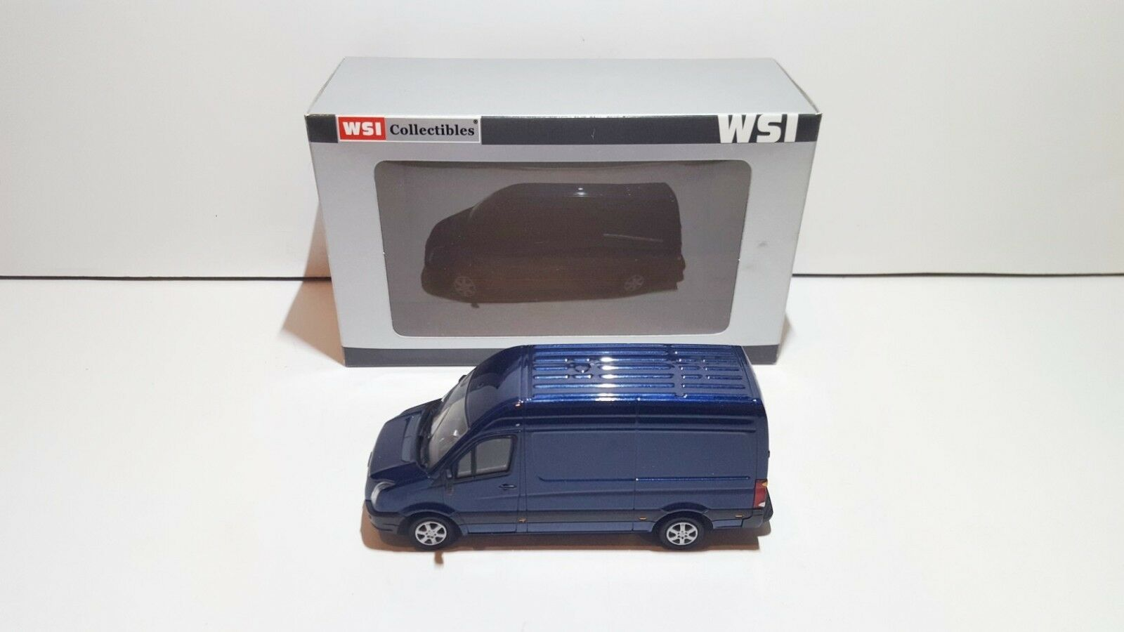 WSI Models PL-VW200-008 VW Volkswagen Crafter (blueW) OVP MIB 1 50 SUPER